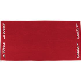 speedo Leisure Towel 100x180cm, red